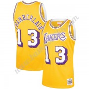 Los Angeles Lakers NBA Basketball Drakter 1971-72 Wilt Chamberlain 13# Gull Hardwood Classics Swingm..