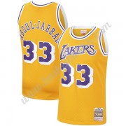Los Angeles Lakers NBA Basketball Drakter 1984-85 Kareem Abdul-Jabbar 33# Gull Hardwood Classics Swi..