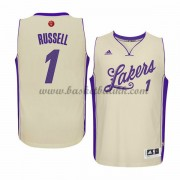 Los Angeles Lakers Basketball Drakter 2015 D'Angelo Russell 1# NBA Julen Drakt..