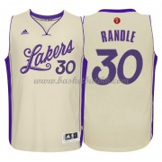 Los Angeles Lakers Basketball Drakter 2015 Julius Randle 30# NBA Julen Drakt..