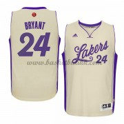 Los Angeles Lakers Mens 2015 Kobe Bryant 24# NBA Julen Drakt NBA Basketball Drakter..