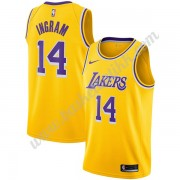 Los Angeles Lakers NBA Basketball Drakter 2019-20 Brandon Ingram 14# Gull Icon Edition Swingman Drakt