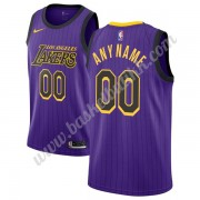 Los Angeles Lakers NBA Basketball Drakter 2019-20 Purple City Edition Swingman Drakt..