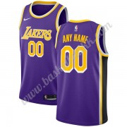 Los Angeles Lakers NBA Basketball Drakter 2019-20 Purple Statement Edition Swingman Drakt..