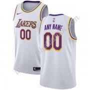 Los Angeles Lakers NBA Basketball Drakter 2019-20 Hvit Association Edition Swingman Drakt..