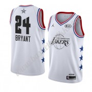 Los Angeles Lakers 2019 Kobe Bryant 24# Hvit All Star Game NBA Basketball Drakter Swingman..
