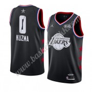 Los Angeles Lakers 2019 Kyle Kuzma 0# Svart All Star Game NBA Basketball Drakter Swingman..