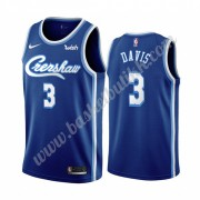 Los Angeles Lakers NBA Basketball Drakter 2019-20 Anthony Davis 3# Blå Classics Edition Swingman Dra..