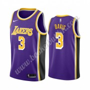 Los Angeles Lakers NBA Basketball Drakter 2019-20 Anthony Davis 3# Purple Statement Edition Swingman Drakt