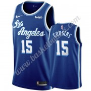 Los Angeles Lakers NBA Basketball Drakter 2019-20 DeMarcus Cousins 15# Blå Classics Edition Swingman..