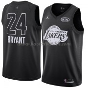 Los Angeles Lakers Kobe Bryant 24# Black 2018 All Star Game NBA Basketball Drakter..