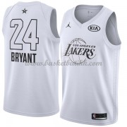 Los Angeles Lakers Kobe Bryant 24# Hvit 2018 All Star Game NBA Basketball Drakter..