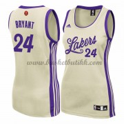 Los Angeles Lakers Kvinner Basketball Drakter 2015 Kobe Bryant 24# NBA Julen Drakt..