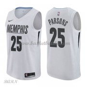 Barn Basketball Drakter Memphis Grizzlies 2018 Chandler Parsons 25# City Edition Swingman..