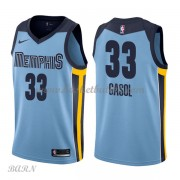 Barn Basketball Drakter Memphis Grizzlies 2018 Marc Gasol 33# Statement Edition Swingman..