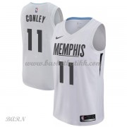 Barn Basketball Drakter Memphis Grizzlies 2018 Mike Conley 11# City Edition Swingman..