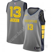 Barn Basketball Drakter Memphis Grizzlies 2019-20 Jaren Jackson Jr. 13# Grå City Edition Swingman Dr..