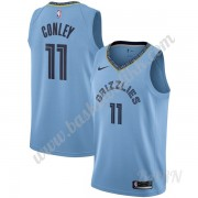 Barn Basketball Drakter Memphis Grizzlies 2019-20 Mike Conley 11# Lyse Blå Statement Edition Swingma..