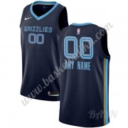 Barn Basketball Drakter Memphis Grizzlies 2019-20 Marinen Icon Edition Swingman Drakt..