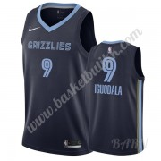 Barn Basketball Drakter Memphis Grizzlies 2019-20 Andre Iguodala 9# Marinen Icon Edition Swingman Dr..