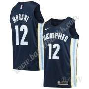 Barn Basketball Drakter Memphis Grizzlies 2019-20 Ja Morant 12# Marinen Icon Edition Swingman Drakt..