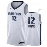 Barn Basketball Drakter Memphis Grizzlies 2019-20 Ja Morant 12# Hvit Association Edition Swingman Dr..