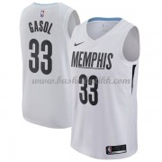 Memphis Grizzlies NBA Basketball Drakter 2018 Marc Gasol 33# City Edition..