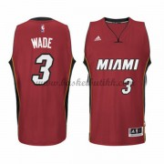 Miami Heat 2015-16 Dwyane Wade 3# Alternate NBA Basketball Drakter..