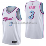 Miami Heat NBA Basketball Drakter 2018 Dwyane Wade 3# City Edition..
