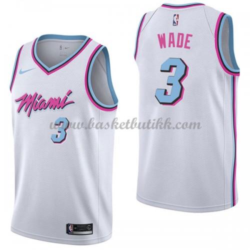 quality design a1e3a bfb92 Miami Heat NBA Basketball Drakter 2018 Dwyane Wade 3# City ...
