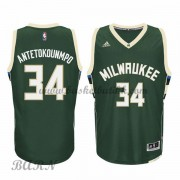 Barn Basketball Drakter Milwaukee Bucks 2015-16 Giannis Antetokounmp 34# Road..