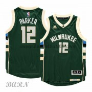 Barn Basketball Drakter Milwaukee Bucks 2015-16 Jabari Parker 12# Road..