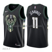 Barn Basketball Drakter Milwaukee Bucks 2018 Brandon Jennings 11# Statement Edition Swingman..