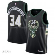 Barn Basketball Drakter Milwaukee Bucks 2018 Giannis Antetokounmpo 34# Statement Edition Swingman..