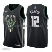 Barn Basketball Drakter Milwaukee Bucks 2018 Jabari Parker 12# Statement Edition Swingman..