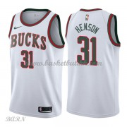 Barn Basketball Drakter Milwaukee Bucks 2018 John Henson 31# Hvit Hardwood Classics Swingman..