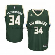 Milwaukee Bucks NBA Basketball Drakter 2015-16 Giannis Antetokounmp 34# Road Drakt..