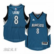 Barn Basketball Drakter Minnesota Timberwolves 2015-16 Zach Lavine 8# Road