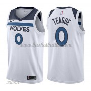 Barn Basketball Drakter Minnesota Timberwolves 2018 Jeff Teague 0# Association Edition Swingman..