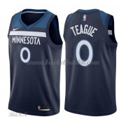 Barn Basketball Drakter Minnesota Timberwolves 2018 Jeff Teague 0# Icon Edition Swingman..