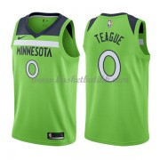 Minnesota Timberwolves NBA Basketball Drakter 2018 Jeff Teague 0# Statement Edition..