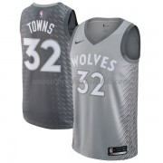 Minnesota Timberwolves NBA Basketball Drakter 2018 Karl Anthony Towns 32# City Edition..