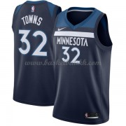 Minnesota Timberwolves NBA Basketball Drakter 2018 Karl Anthony Towns 32# Icon Edition..