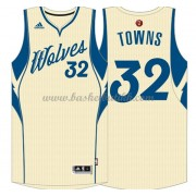 Minnesota Timberwolves Basketball Drakter 2015 Karl-Anthony Towns 32# NBA Julen Drakt..