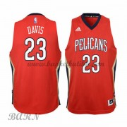 Barn Basketball Drakter New Orleans Pelicans 2015-16 Anthony Davis 23# Alternate