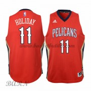 Barn Basketball Drakter New Orleans Pelicans 2015-16 Jrue Holiday 11# Alternate..
