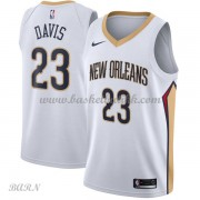 Barn Basketball Drakter New Orleans Pelicans 2018 Anthony Davis 23# Association Edition Swingman..