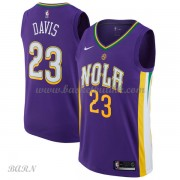 Barn Basketball Drakter New Orleans Pelicans 2018 Anthony Davis 23# City Edition Swingman..