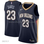Barn Basketball Drakter New Orleans Pelicans 2018 Anthony Davis 23# Icon Edition Swingman..