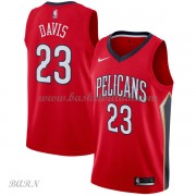 Barn Basketball Drakter New Orleans Pelicans 2018 Anthony Davis 23# Statement Edition Swingman..